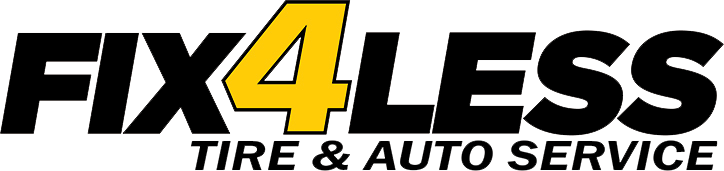 Logo Fix 4 Less Tire & Auto Service